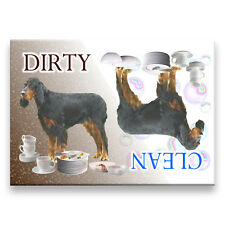 GORDON SETTER Clean Dirty DISHWASHER MAGNET Dog NEW
