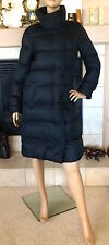 UNIQLO WOMEN BLACK LIGHTWEIGHT DOWN VOLUME COLLAR COAT NWT SIZE M 129.90$
