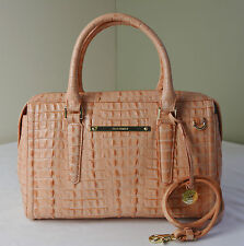 Brahmin Mai Tai Peach Orange La Scala Melbourne Gemma Satchel Shoulder Bag