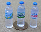 1:12 Scale 3x Mixed Round Bottles Of Water Dolls House Miniature Drink Accessory