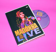 RARE Madonna The Virgin Tour Live DVD 1985 Dress you, into the groove Free ship!