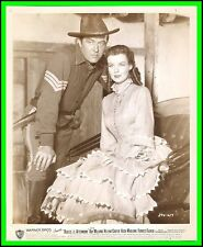 """HELENA CARTER & RAY MILLAND in """"Bugles in the Afternoon"""" Original Vintage 1952"""