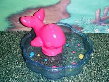 Barbie Kelly Pink Whale Flower Shaped Pool Whale REALLY squirts water!! Summer