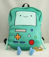 "New Adventure Time Plush BMO Beemo Game Plush Backpack 13"" Shoulder Bag"