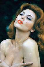 Tina Louise 11x17 Mini Poster bareshouldered stunning busty redhead glamour pose