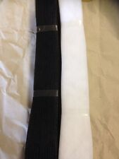 Horsehair / Crinoline Braid 38mm X 50 Metre Black Or White