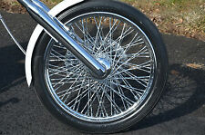 "Ultima 21"" X 2.15"" 80 Twisted Spoke Front Wheel 1984-1999 Harley Softail Chopper"