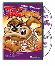 Taz-Mania . Season 1 . Volume 2 . Who Let The Taz Out . 13 Episodes . 2 DVD NEU