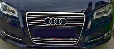 Audi A3 8PA 8P1 8P7 03-  CHROME Kit Front Grille Covers 3M Trim Tuning