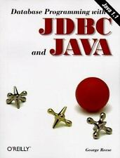 Database Programming with JDBC and Java ~ George H. Reese ~ PB ~ Good