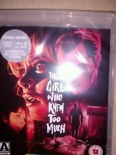 THE GIRL WHO KNEW TOO MUCH DUAL FORMAT BLU-RAY & DVD Mario Bava NEW