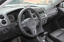 Solid Black Slip-On Style Steering Wheel Cover Perfect Fit Comfortable Handling