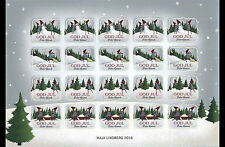 Aland - Postfris / MNH - Sheet Christmas Seals 2016
