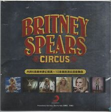 Britney Spears: Circus TAIWAN 2009 PROMO REMIX CD + 6 PHOTO CARDS