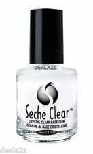 BUY 5  GET 1 FREE  BASE COAT CRYSTAL CLEAR BASE NAIL LACQUER 0.5 fl oz