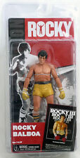 Rocky 3 Series 3 Rocky Balboa - Gold Trunks 7 inch Action Figure Toy NECA MGM