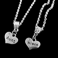 Aunt Niece necklace set 2 Necklaces Aunt and Niece jewelry gift best jewelry
