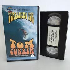 Searching for Tom Curren VHS - Rip Curl Sonny Miller Surfing Movie