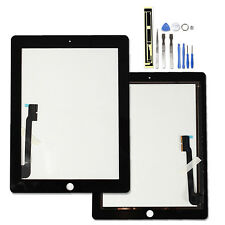 BLACK For iPad3 iPad 4 3g Wifi Front Glass Digitizer Touch Screen Replacement UK