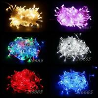 10M/20M/30M LED Christmas Tree Garden Party String Fairy Lights 100L/200L/300L