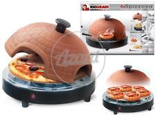 "Forno Pizza ""La Spizzosa""  Terracotta Diametro 30 cm in soli 8 min 1000 Watt"