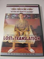 Lost in Translation (DVD, 2004, Full Screen) Focus Features
