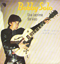 BOBBY SOLO-UNA LACRIMA SUL VISO + FAMILY LIFE SINGLE VINILO 1978 SPAIN REGULAR