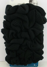 GOODY OUCHLESS HAIR SCRUNCHIES - BLACK - 8 PCS.  (37027)