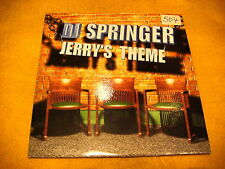 Cardsleeve Single CD Dj Springer Jerry's Theme 2TR 1998 dance