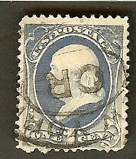 Benjamin Franklin USA stamp 1870's year Fancy OREGON cancel