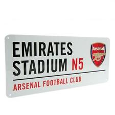 Arsenal FC Decorative Metal Stadium/Street Sign - Official Merchandise