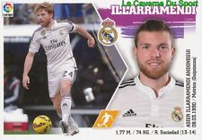 13 ILLARRAMENDI  ESPANA REAL MADRID STICKER LIGA 2016 PANINI