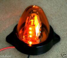 1x 24V LED ambra Luci Di Posizione Rotante Camion Autotelai Per Rimorchi Furgone