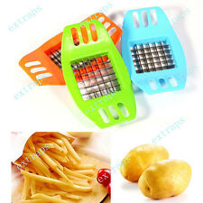 French Fry Potato Chip Cut Cutter Vegetable Fruit Slicer Chopper Chipper Blade E