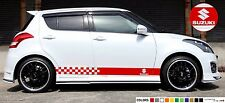 Sticker stripe Kit for Suzuki swift air sport light Gear seat shift Vents cover
