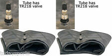 TWO NEW 13.6/14.9-24  13.6-24 14.9R24 HEAVY DUTY TRACTOR TIRE TUBES