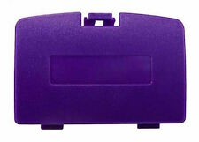 New GRAPE PURPLE Battery Cover for Game Boy Color System - GBC Replacement Door