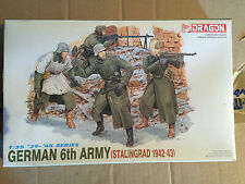 DRAGON ITALERI 1:35 GERMAN 6TH ARMY STALINGRAD KIT DI MONTAGGIO NEW!!