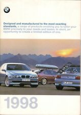 BMW Accessories 1998 UK Market Sales Brochure 3 5 7 8 Series Z3