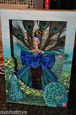 MATTEL PEACOCK BARBIE 1ST IN THE BIRDS OF BEAUTY COLLECTION MIB NRFB