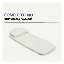 Materassino COMPLETO per TRIO universale 72X32 cm
