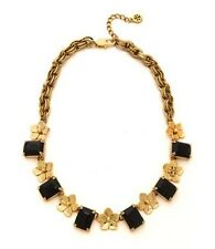Tory Burch Cecily Black Short Necklace, NWT