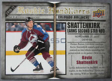 2010-11 Upper Deck Rookie Headliners #2 Kevin Shattenkirk Colorado Avalanche