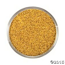Gold - Wedding Decorative COURSE GLITTER Coloured Sand - 500g Bag