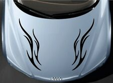 Indiashopers Flame Stripe Windows, Sides, Hood, Bumper Car Sticker