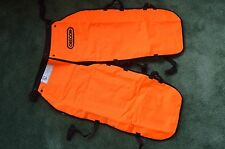"""Oregon 564132-40 safety chainsaw chaps protective  leggings 40"""" length Long"""
