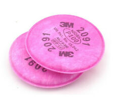 15 packs 3M 2091 particulate filter P100 for 6000 7000 series respirator