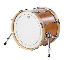"Small Travel Bass Drum 12"" x 18"" Burnt Orange - by Side Kick Drums"