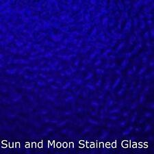 Wissmach Stained Glass Sheet EM220 - COBALT BLUE English Muffle