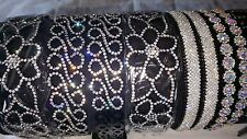 Joblot 12 pcs Mixed Design Diamante sparkly Headbands NEW wholesale Lot G